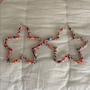 🌞Bauble Bar 'multi-colored beaded' earrings.